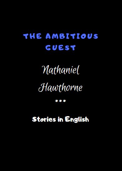 The Ambitious Guest by Nathaniel Hawthorne