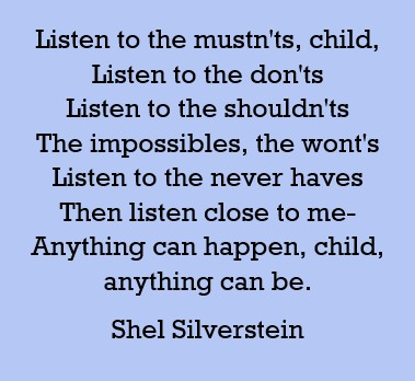 Poems Of Shel Silverstein Poemas En Inglés