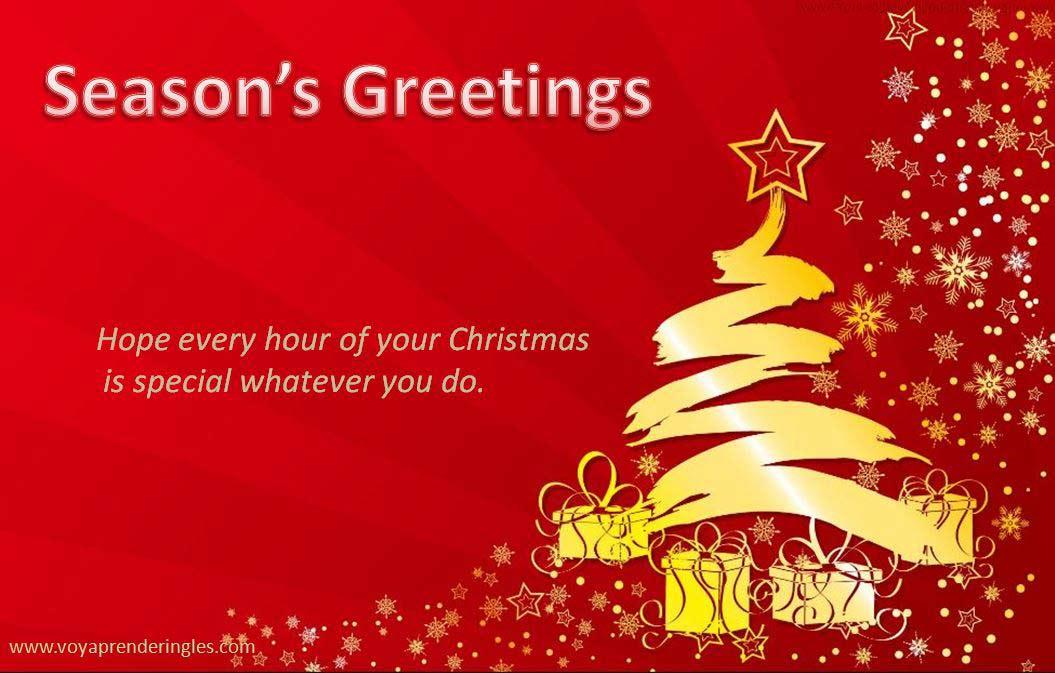 Tarjetas de Navidad Christmas Cards Felicitaciones Greetings