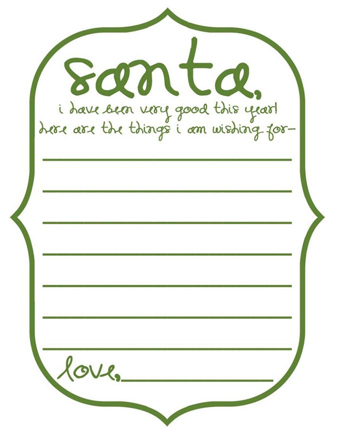 03 Write Letters to Santa Claus