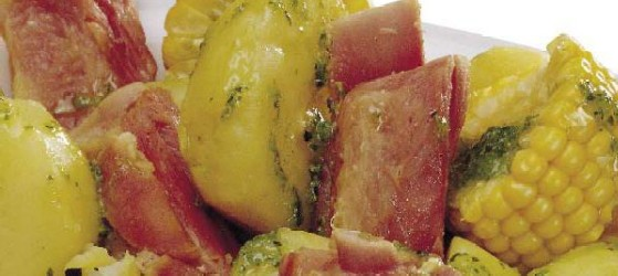 Ribs with potatoes - Costillas con papas
