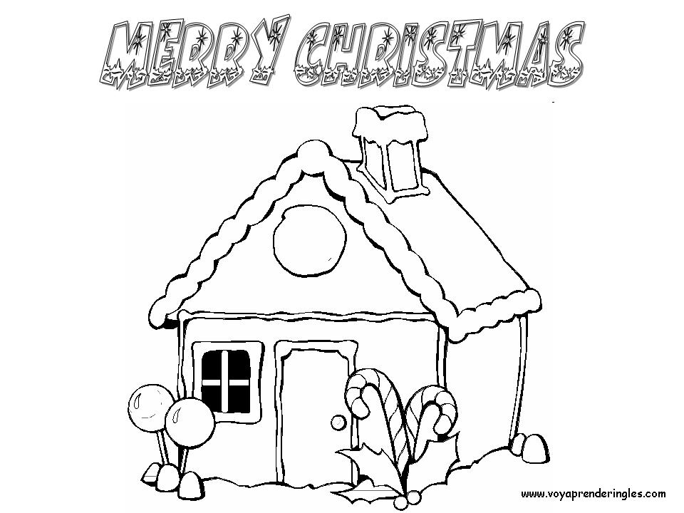Merry Christmas - Dibujos Navidad en Inglés