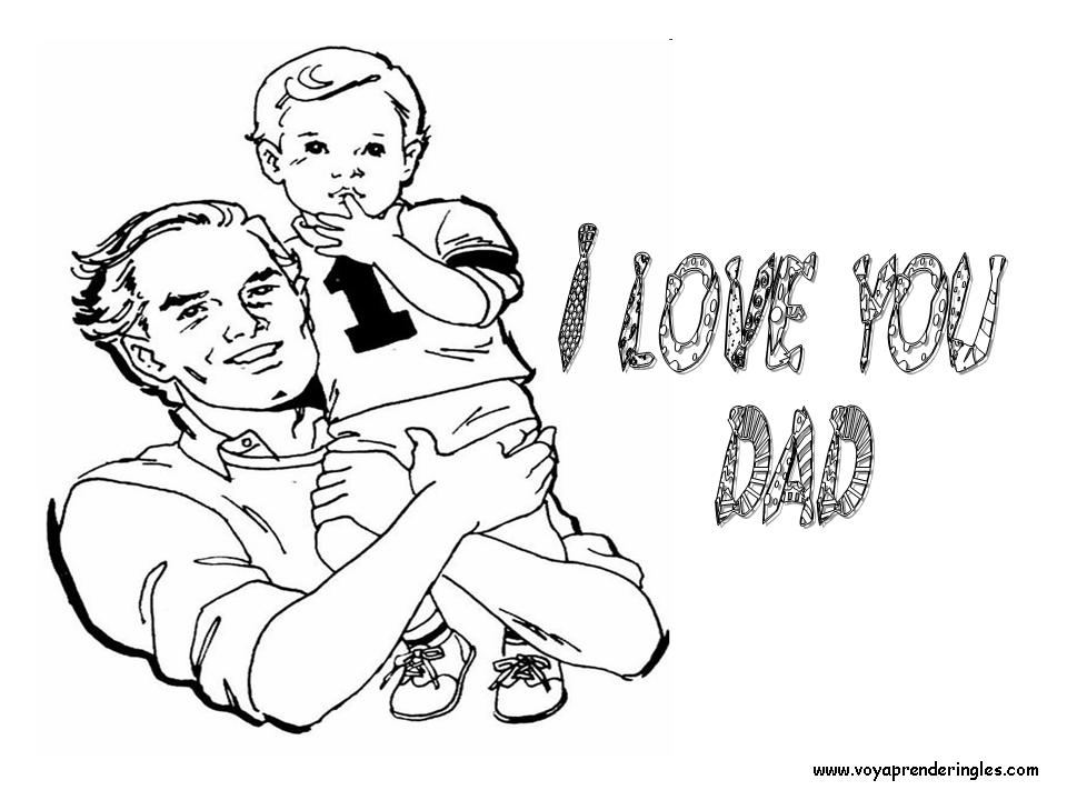 Coloring Pages father's day