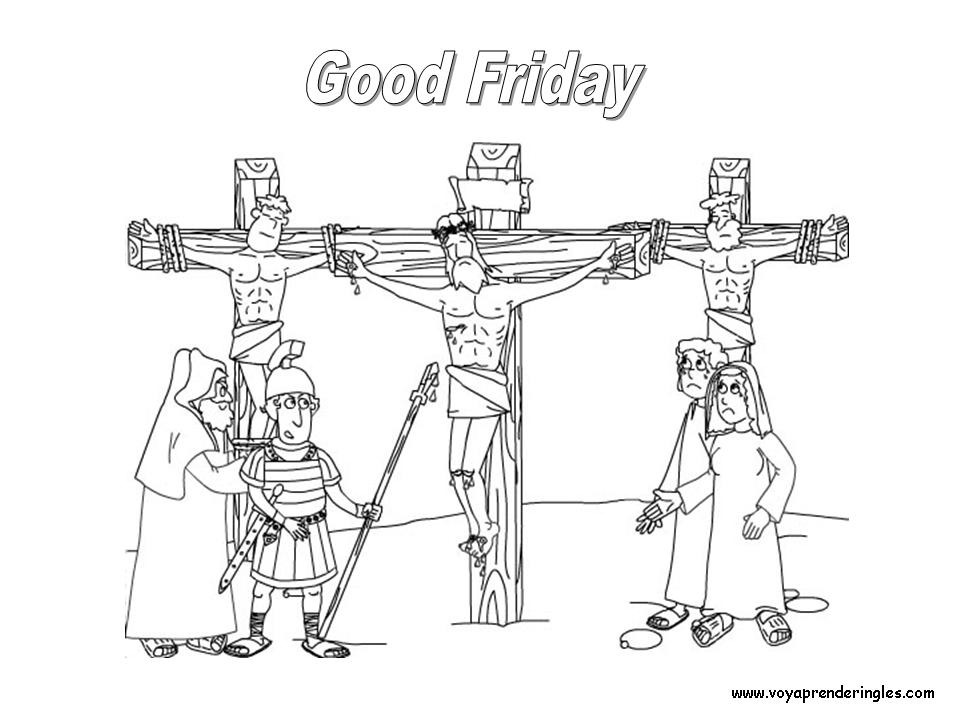 Good Friday - Dibujos Pascua en Inglés
