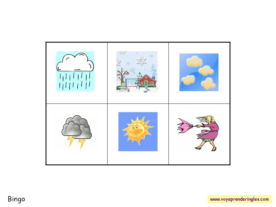 06. Bingo: Weather