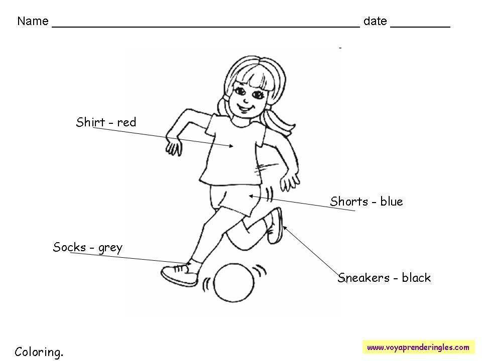 Worksheets The Colors 11 - Fichas en Inglés los Colores