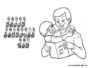 Coloring Pages Fathers Day Dibujos Día Del Padre Coloring Pages