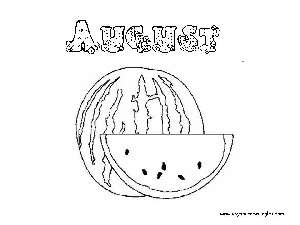 Coloring Pages Months Of The Year Dibujos Meses Del Año Coloring
