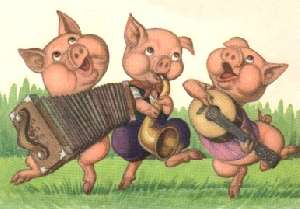 The Three Little Pigs - Los Tres Cerditos