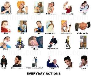 Acciones cotidianas - Everyday actions