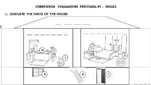 Worksheets English Assessment 01 - Evaluación de Inglés
