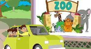 Going to the Zoo - Canciones para Niños en Inglés
