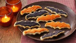 Halloween biscuits - Receta de galletas para Halloween