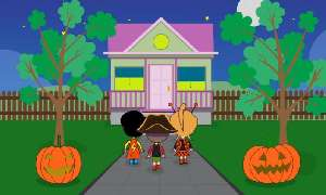 halloween night 2, Children's Halloween Song