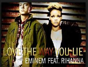 Letra de la canción Love the way you lie - Eminem - Rihanna