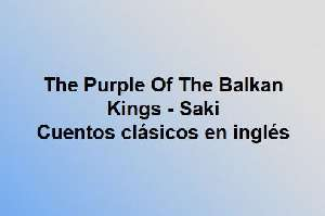 The Purple Of The Balkan Kings