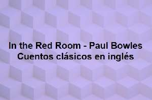 In the red room