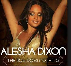 Letra de la canción The Boy Does Nothing de Alesha Dixon