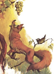 The Fox and the Grapes - La Zorra y las Uvas